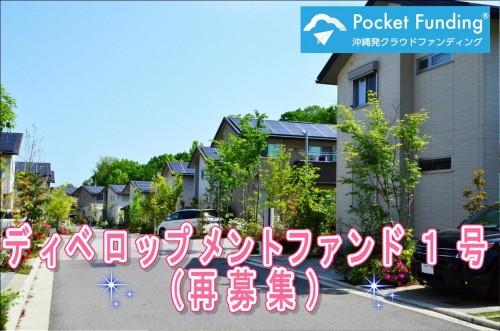 ディベロップメントファンド1号(再募集)【一部不動産担保付】